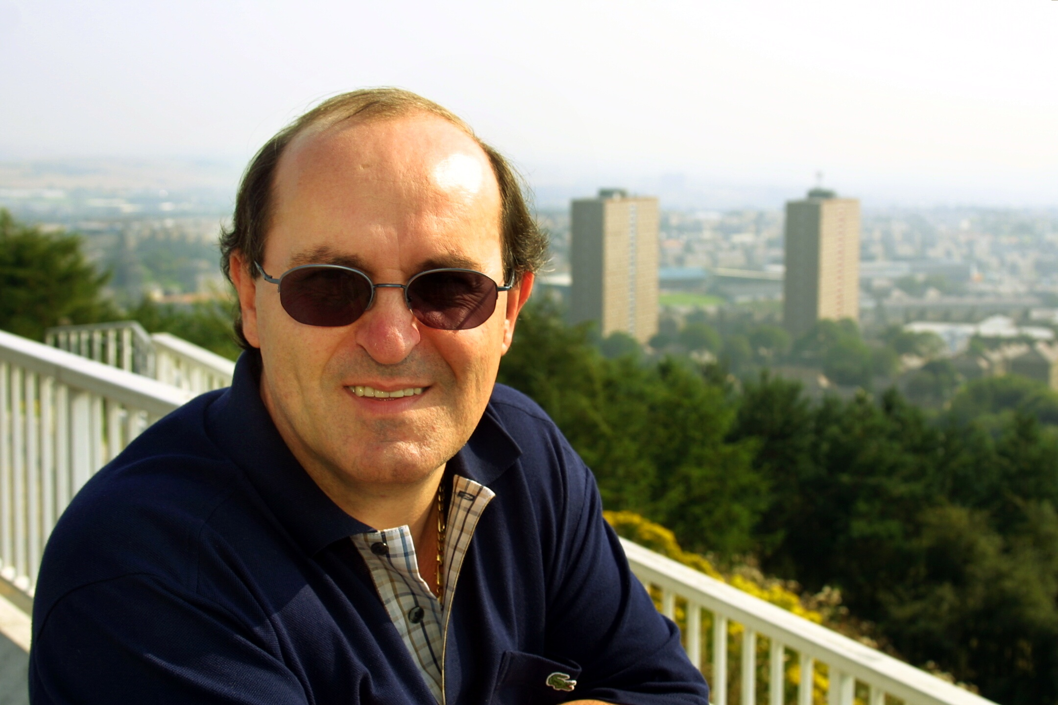 Former Dundee FC director Giovanni di Stefano in 2003.