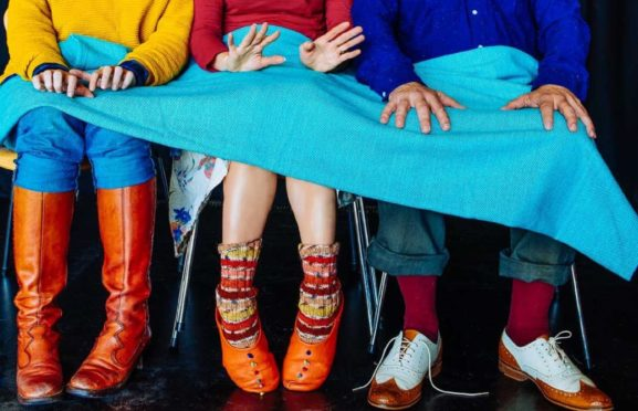 Curious Shoes offers na creative and inclusive look at dementia.