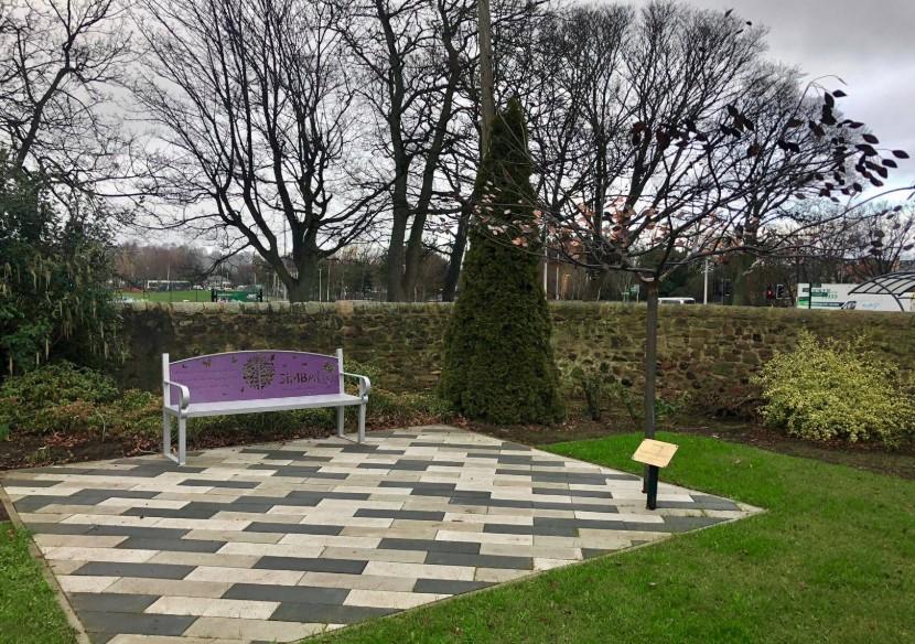 Edinburgh's Tree of Tranquility.