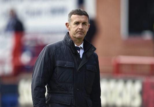 Jim McIntyre left Dundee after relegation from Premiership