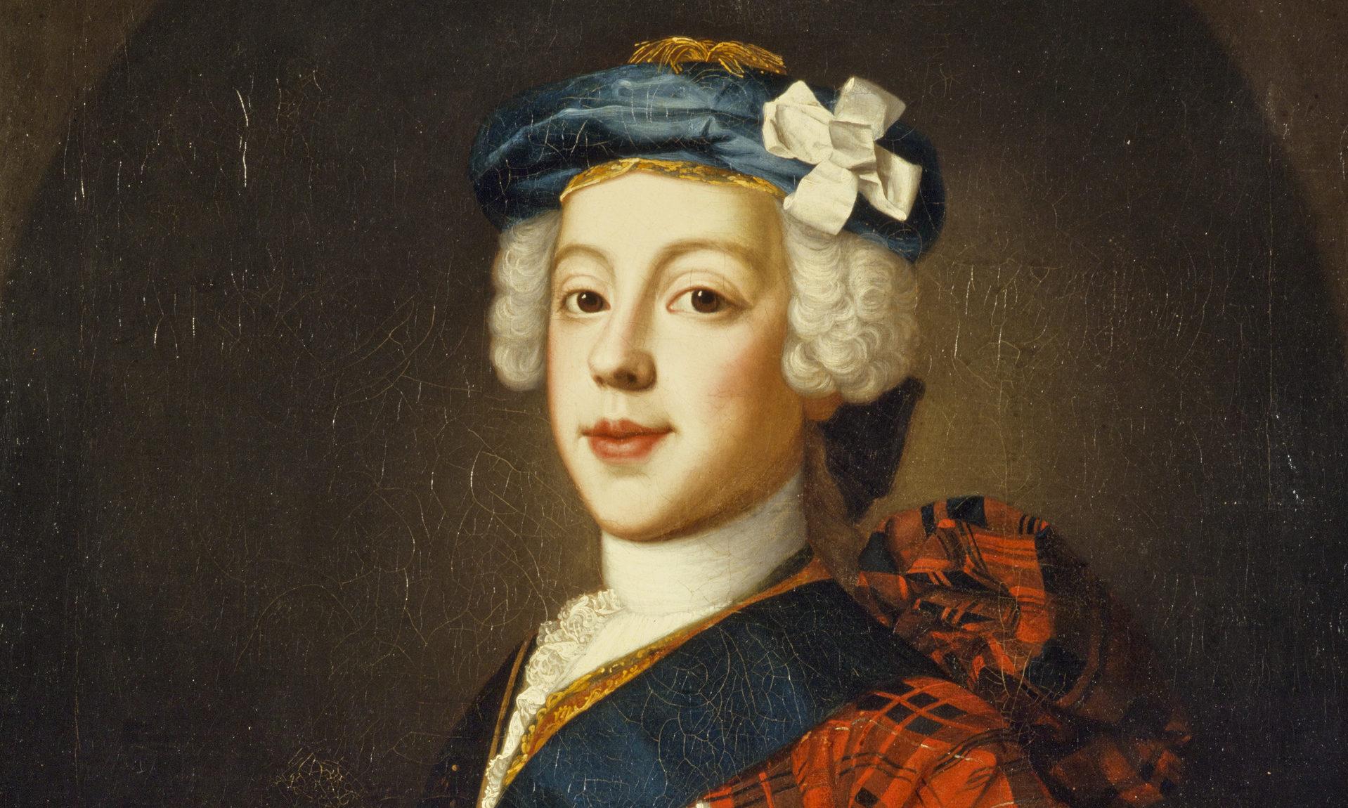 Prince Charles Edward Stuart by William Mosman