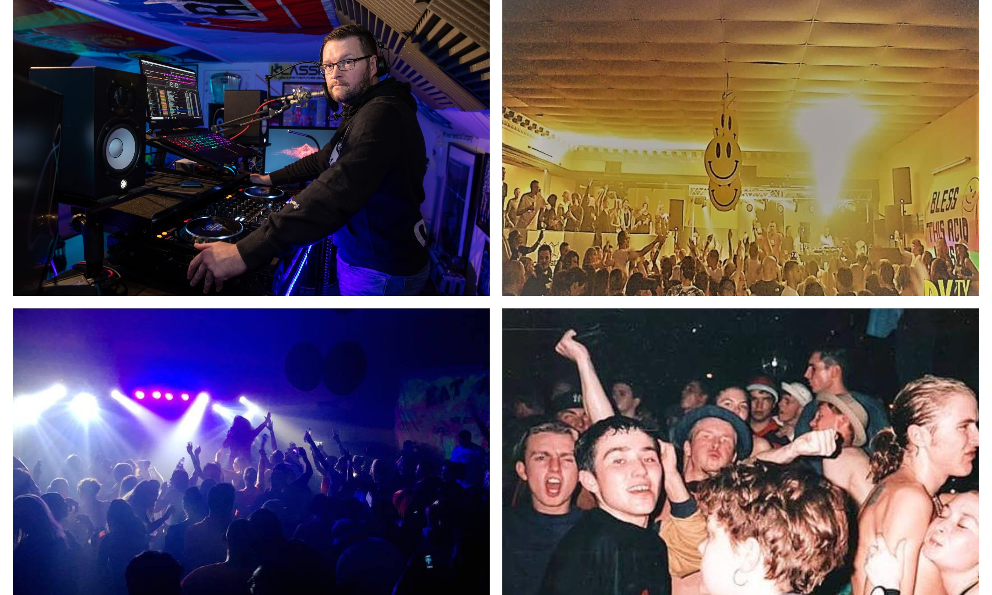 Reunion has brought the legendary heyday of Fife's rave scene back to Rosyth.