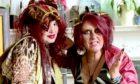 Shamanic duo Maria Rud and Fay Fife.