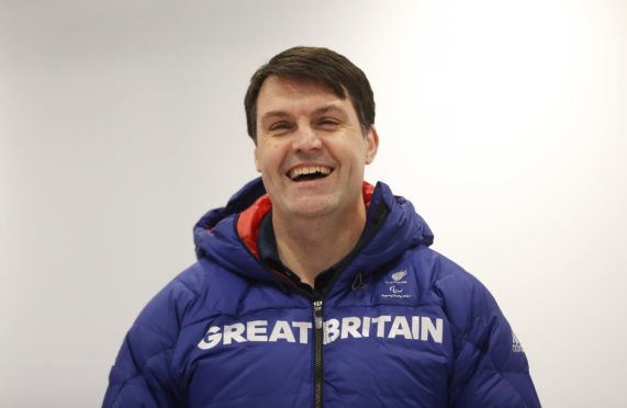 Outgoing performance director Graeme Thompson.