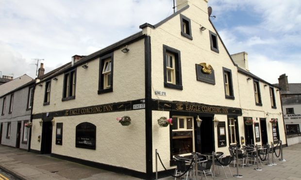 The Eagle Coaching Inn, Broughty Ferry.