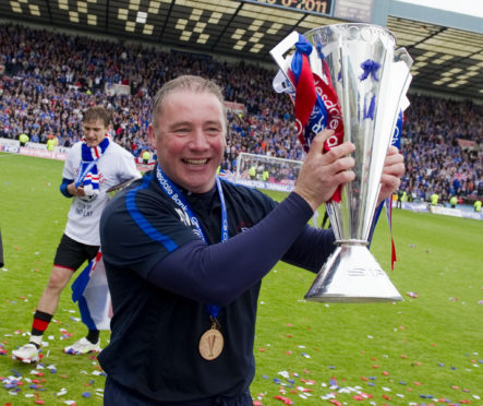 Ally McCoist is looking forward to visiting Dundee at the end of June.