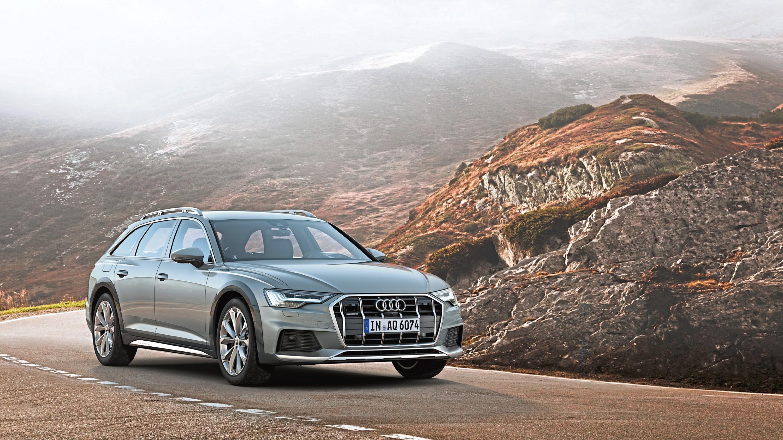 The Audi A6 Allroad.
