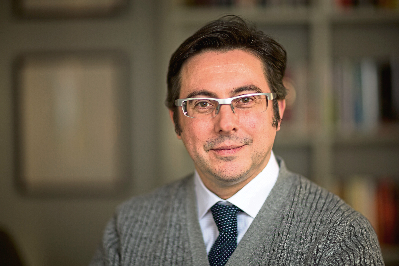 Exscientia CEO Professor Andrew Hopkins. Picture: Fisher Studios