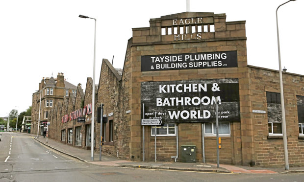 Tayside Plumbing & Building Supplies Ltd at Eagle Mills, Dundee