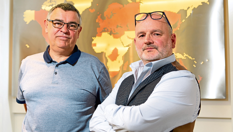 Crucial directors Tim Dixon and George Craigie.