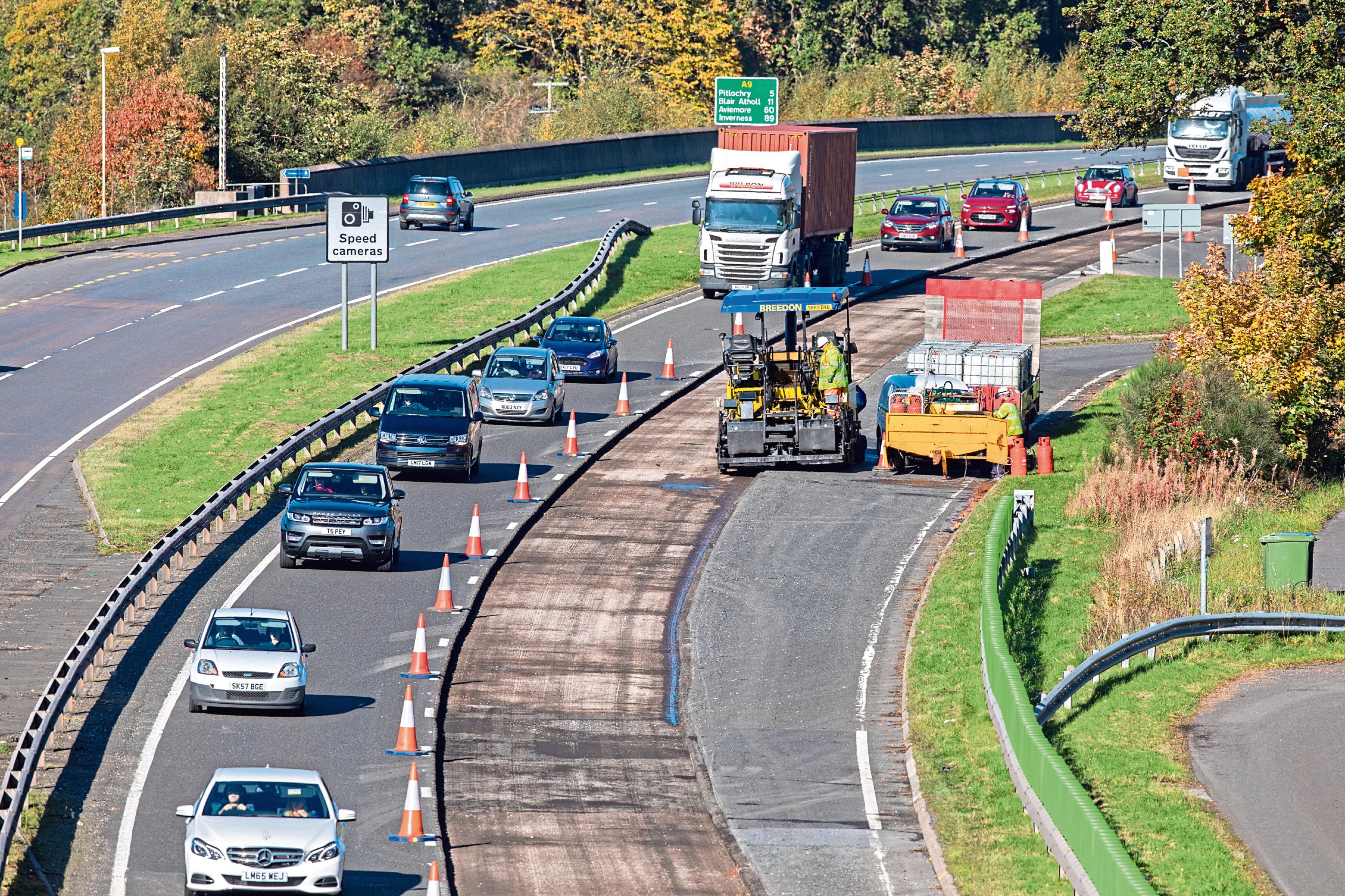 A week-long campaign calls on road users to be patient and respect the workforce who carry out road maintenance.
