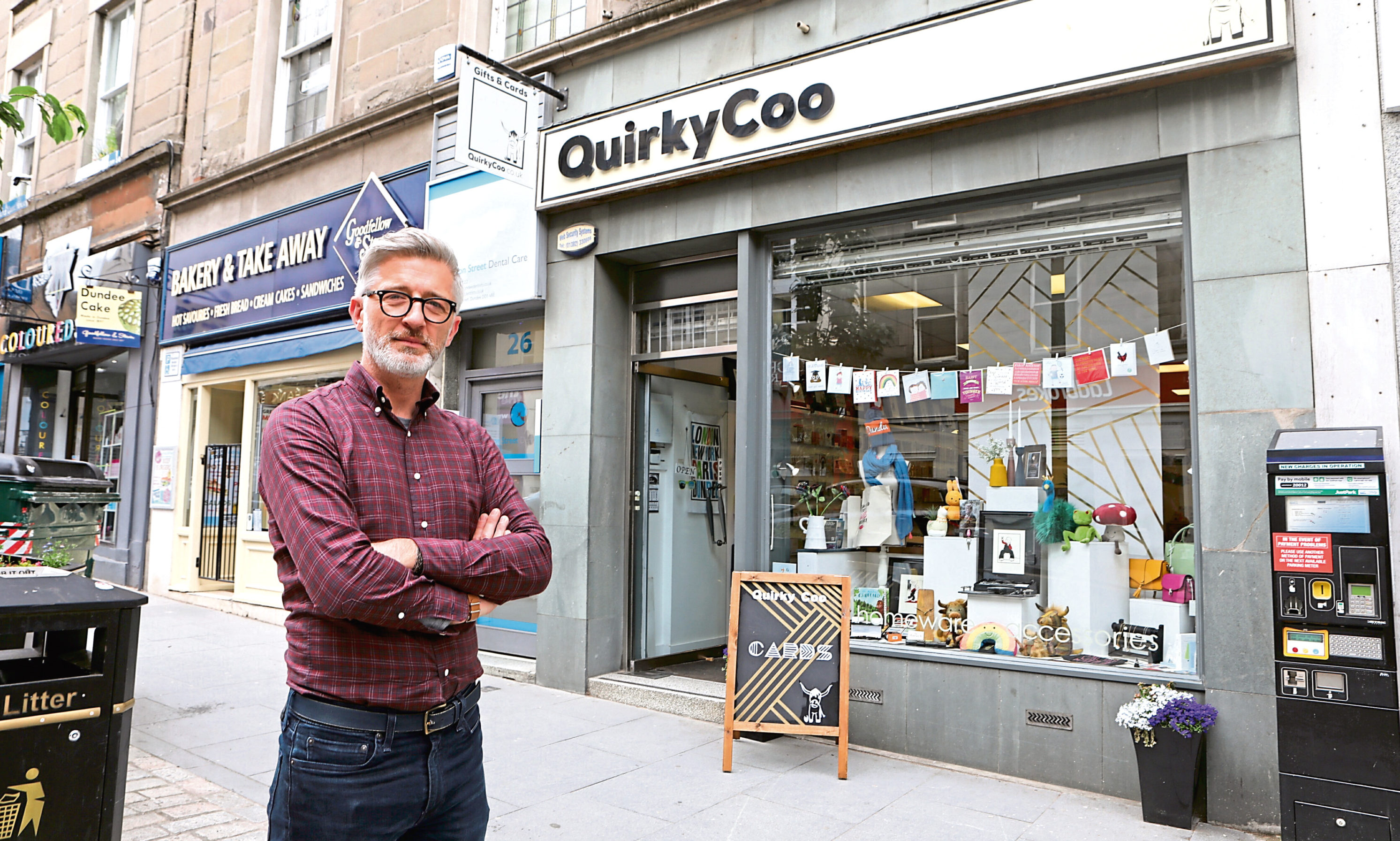 David Blair of the Quirky Coo.