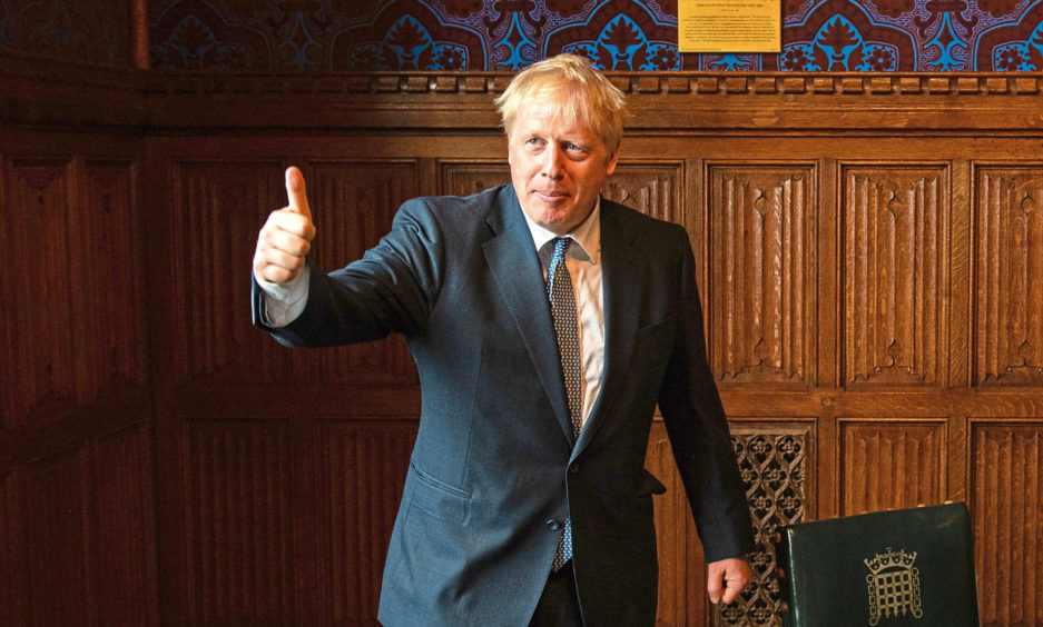 When Boris Johnson is in town, all days are good days to bury bad news. Except, of course, for Johnson himself.