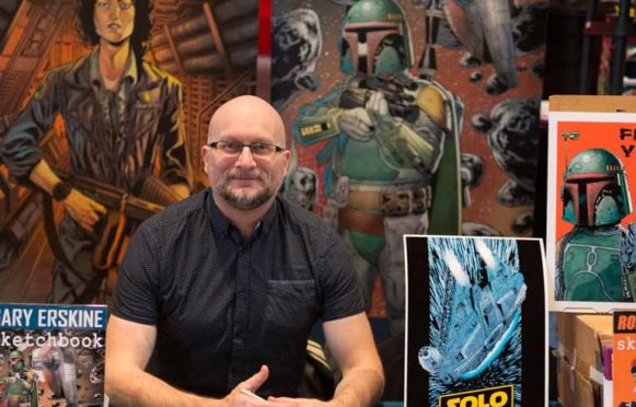 Ian Bonar of BGCP Comic Con, which comes to Glenrothes on Saturday.