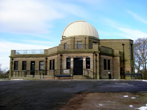 Mills Observatory was built in 1935