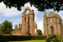 Arbroath Abbey, where the Declaration of Arbroath was written in 1320.