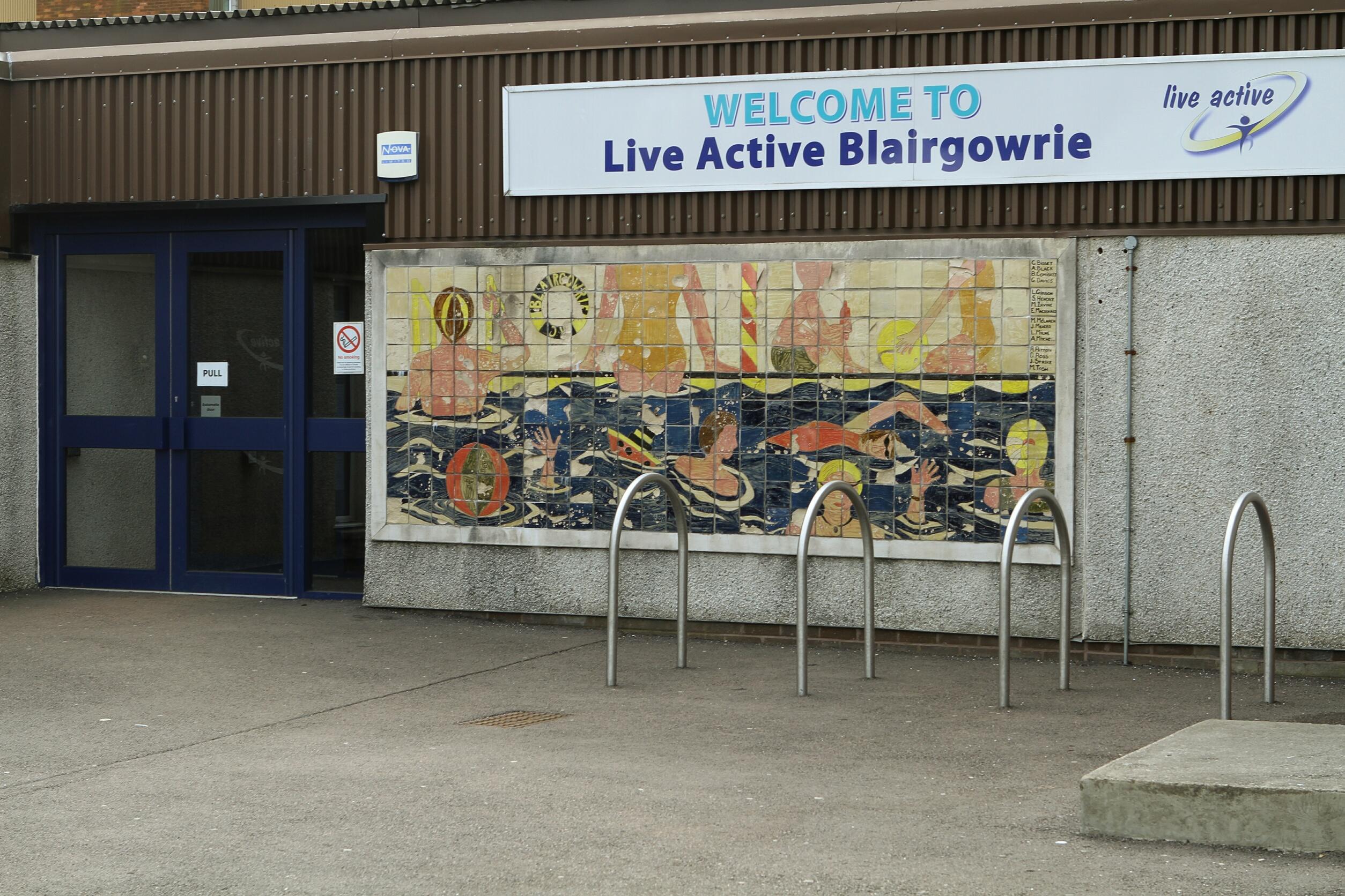 Blairgowrie recreational centre.