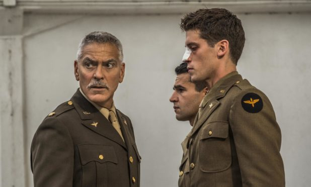 George Clooney in Catch-22.
