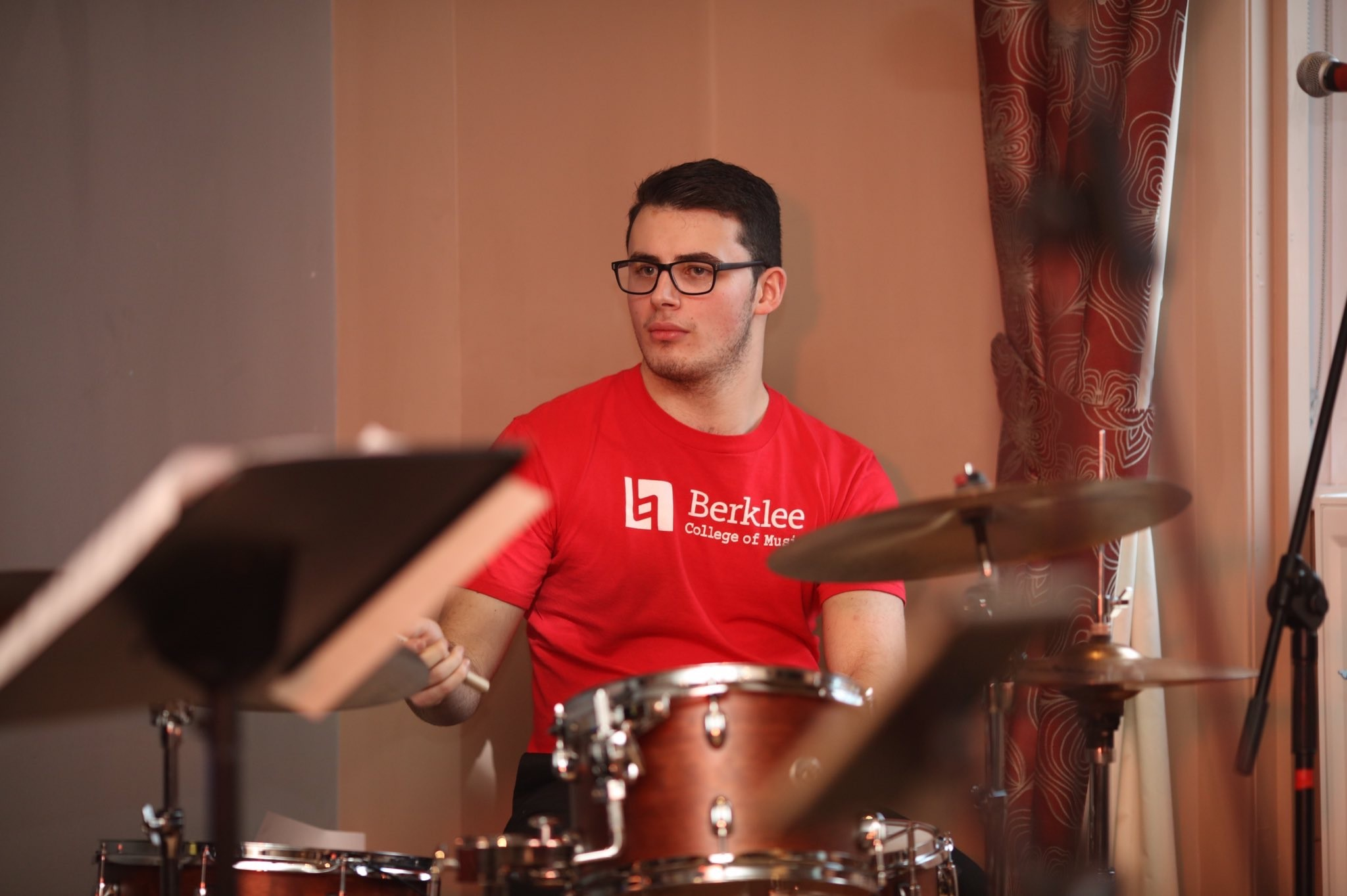 Talented teenage musician Ciaran Roberts-Osterberg