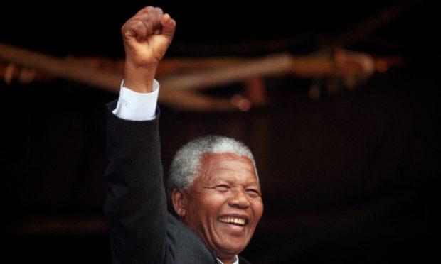 Nelson Mandela in 1993.
