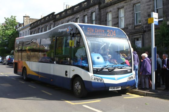 The under fire 204 bus service in the West End