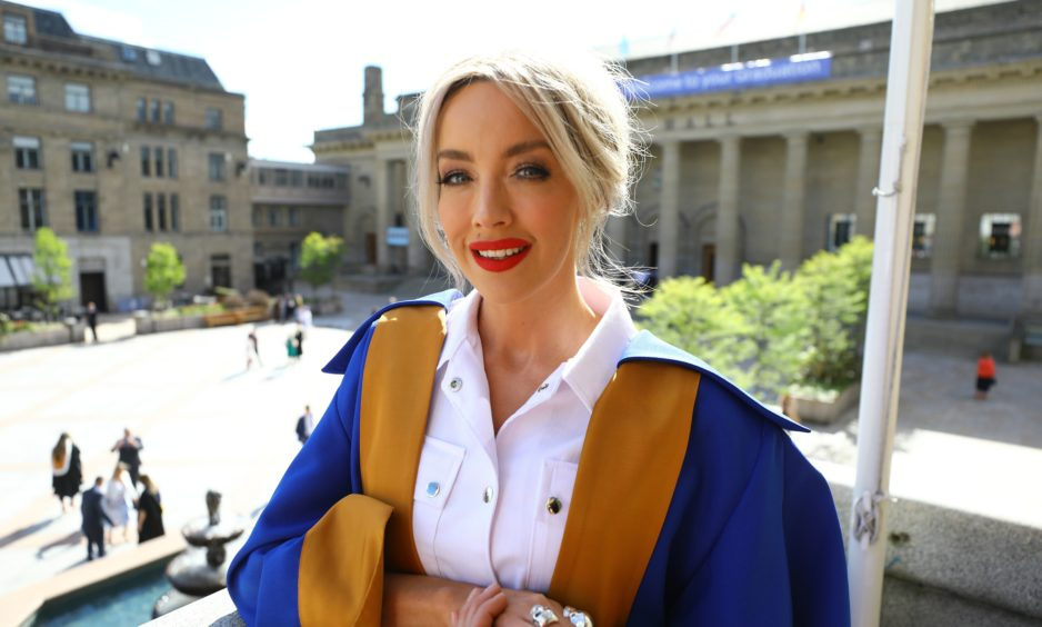 Honorary Graduate, Hayley Scanlan. Picture by Dougie Nicolson / DCT Media