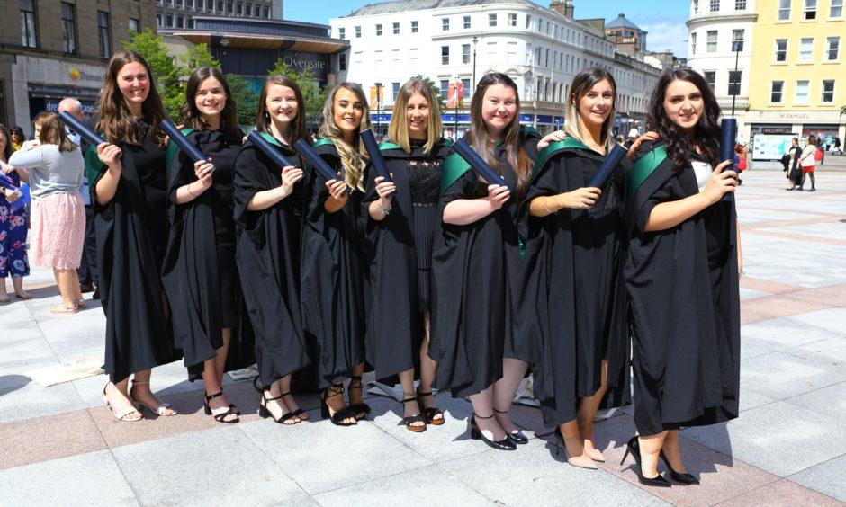 A group of Primary Teacher graduates.