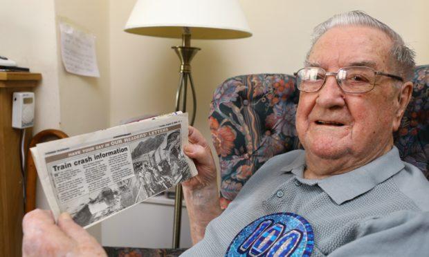 Veteran George McRitchie.