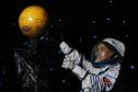 Megan Worters - Science Communicator 'reaching for Mars'.