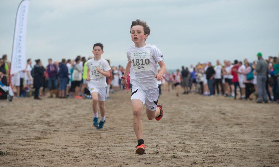 Junior race winner, Alex McNeilly