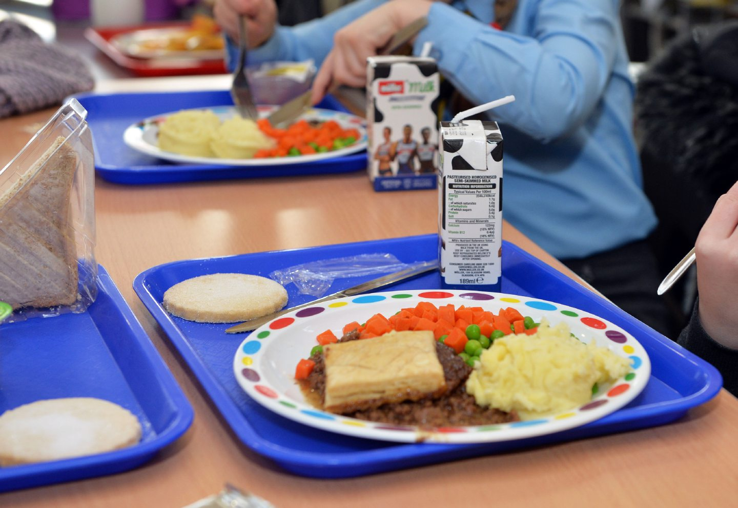 School meal times could look very different when pupils return next month