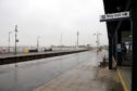Montrose rail station.