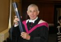 Rugby legend Sir Ian McGeechan receives an honorary doctorate at the University of St Andrews.