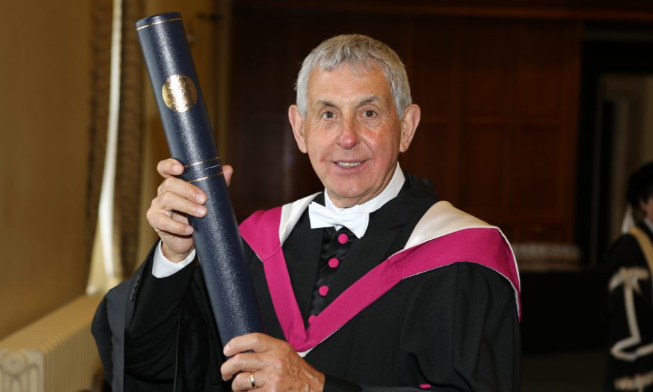 Honorary graduand Sir Ian McGeechan.