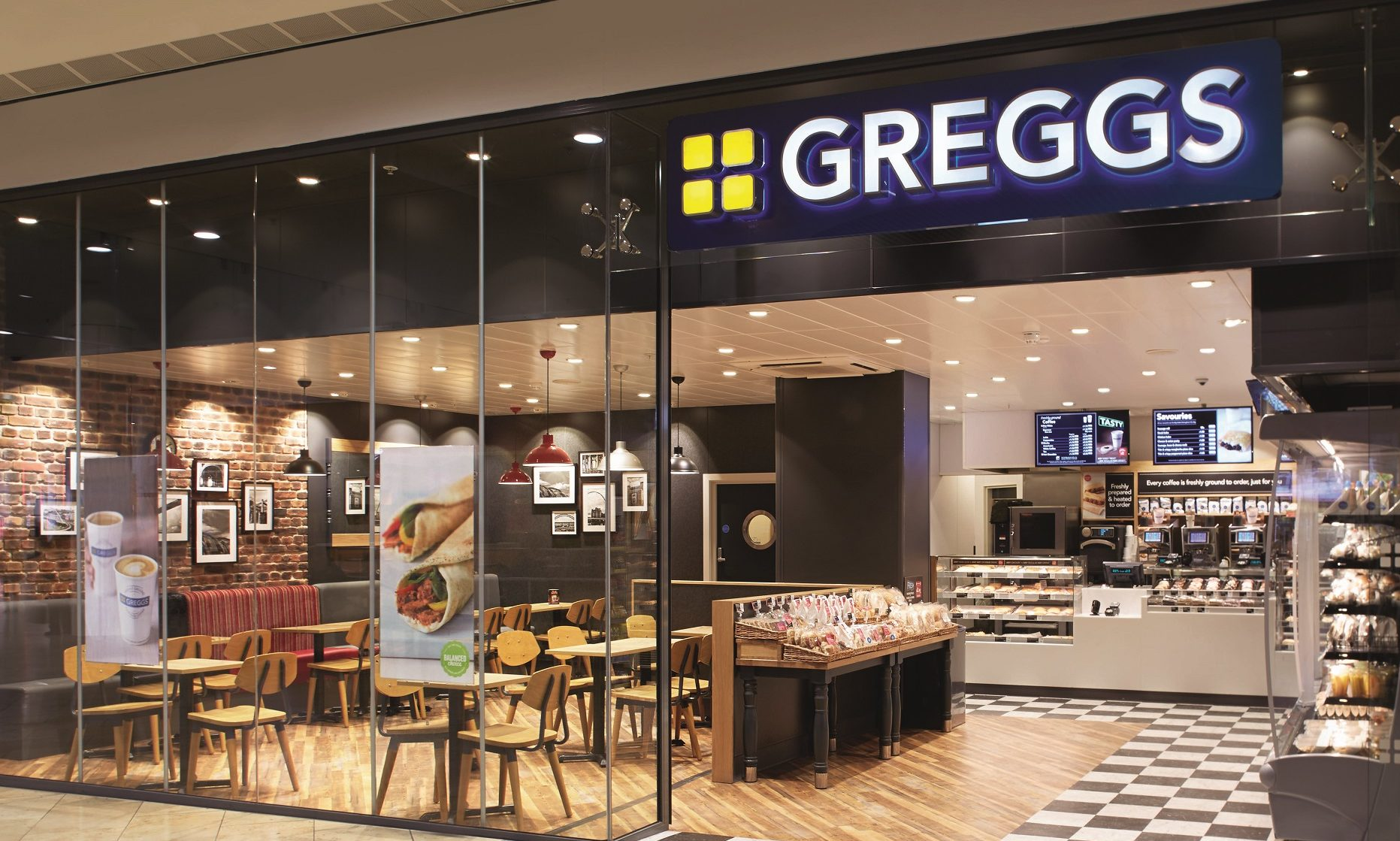 Greggs' store on Dundee's Broomhill Road.
