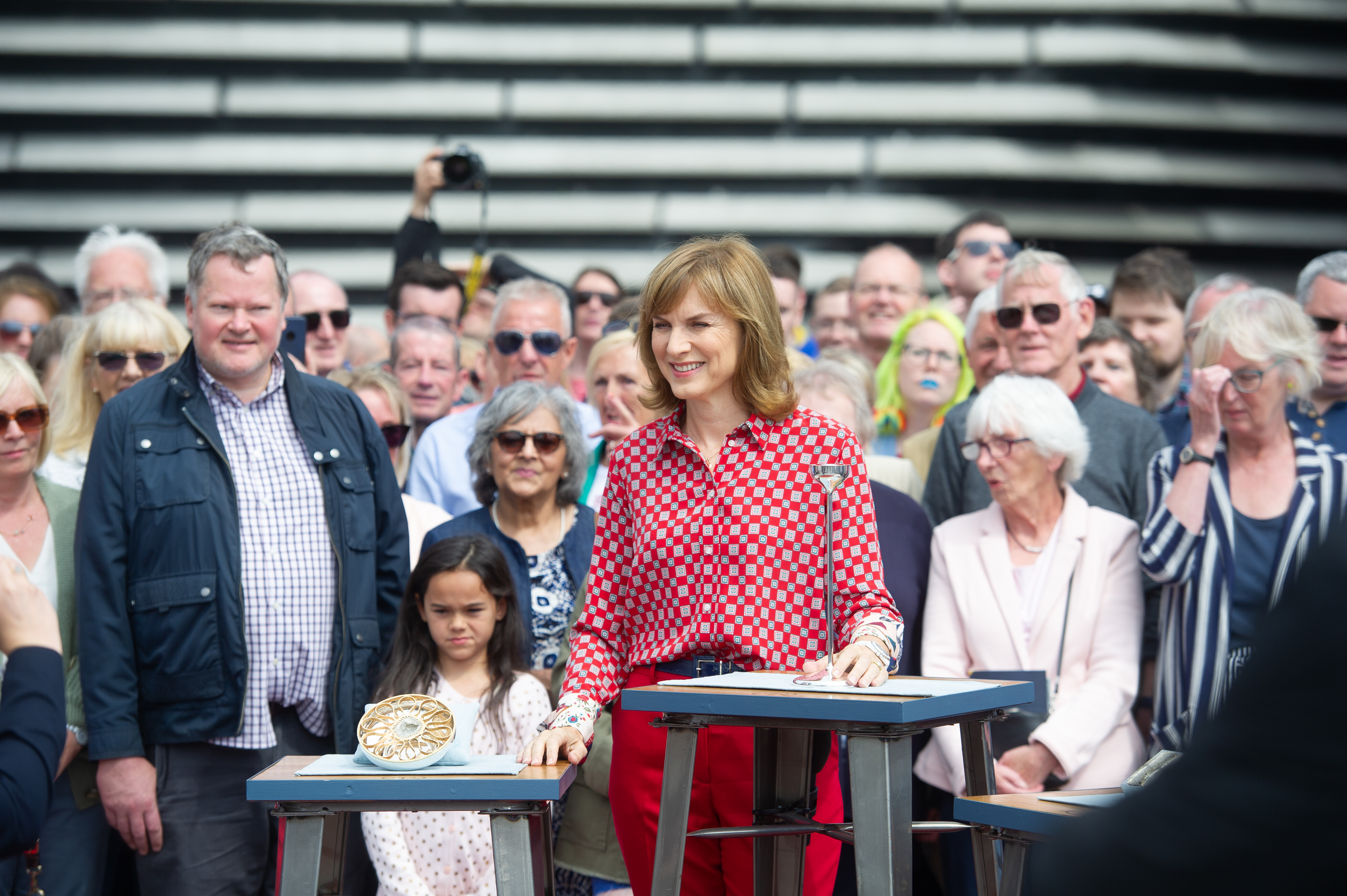 Fiona Bruce presents the Antiques Roadshow from Dundee