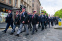Veterans take part in the Armed Forces Day Parade