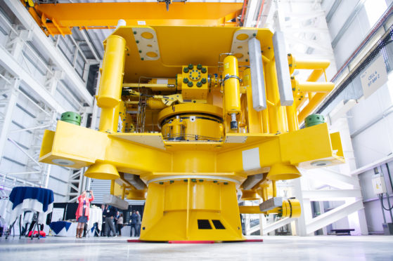 Subsea equipment manufactured and tested at the BHGE Montrose facility