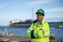 Rob Jansen (Shell Head of Decommissioning) was there to witness the vessel arriving in Dundee