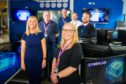 The team who created the new Cyber Security Lab - back l to r - George McAteer, Alex Alves, Adam Gummer and Ian Birchall - front - Gillian McGovern and Sharon Phillips.