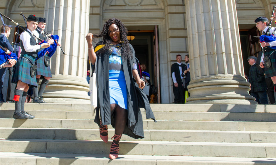 Adaeze Ehoh-Chukwukelu graduated with a MSc Human Resource Management. Picture by Kim Cessford / DCT Media