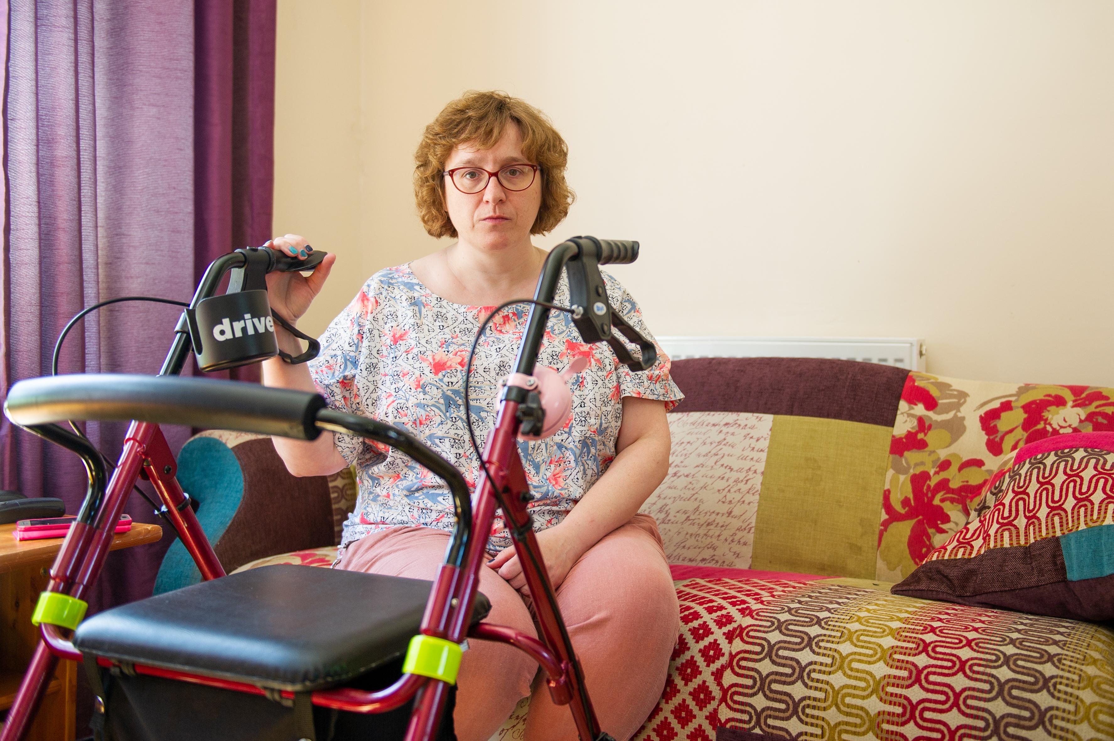 Karen Robertson who faced discrimination on a bus