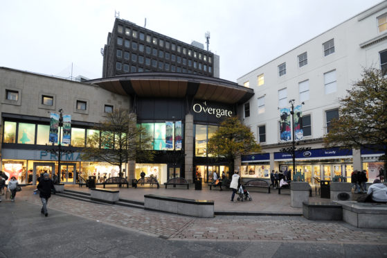 The Overgate Shopping centre.