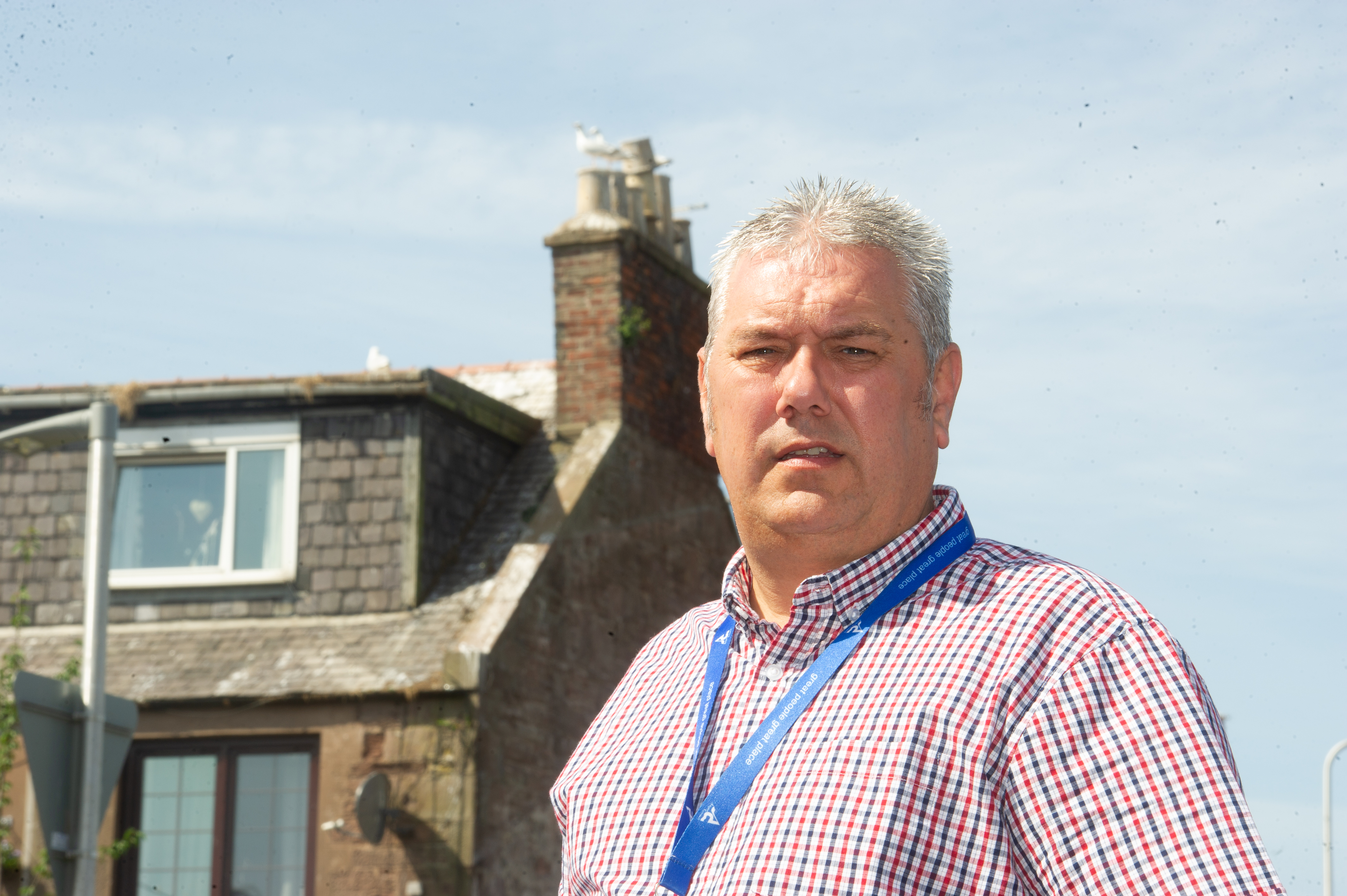 Councillor Tommy Stewart previously called for a gull cull.