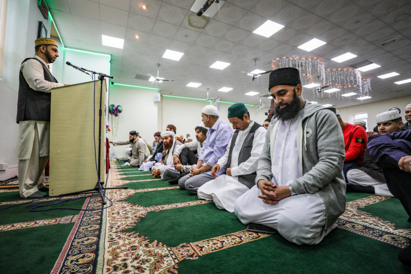 Eid celebrations continued among Muslims across Dundee on June 5 2019. All Pictures By Kris Miller