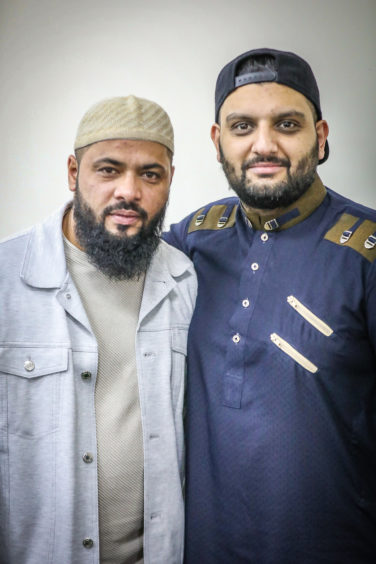 Local Muslim community celebrate Eid at Dundee Islamic Society (Victoria Road), to mark the end of Ramadan.