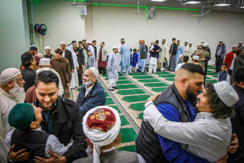 Eid is a festival of breaking the fast with Ramadan having begun on May 5.