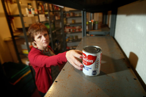 Councillor Judy Hamilton has long supported the work of foodbanks like the one in Kirkcaldy.