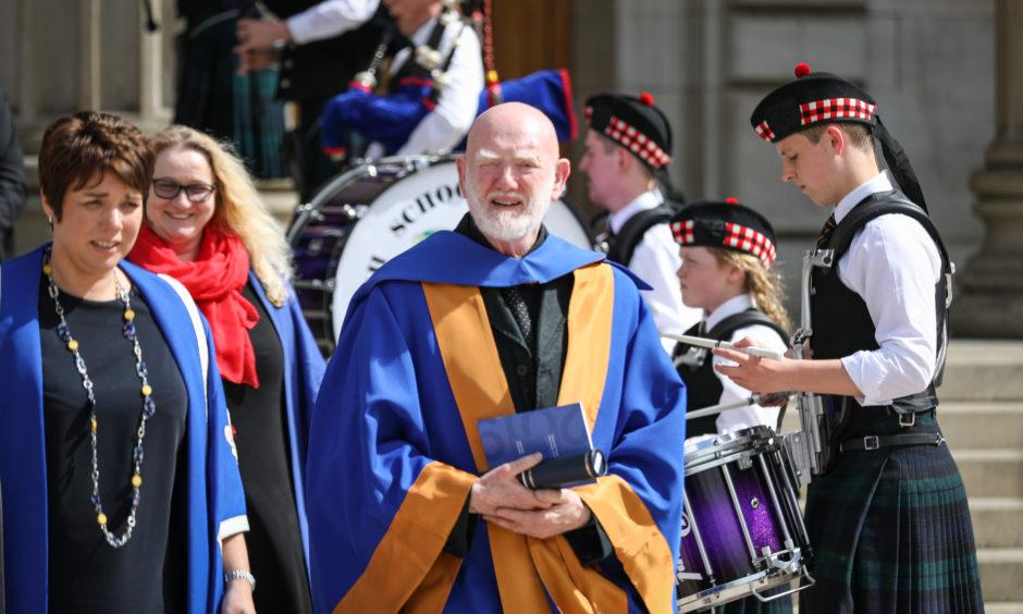 Honorary Graduate, Professor Alastair MacLennan.