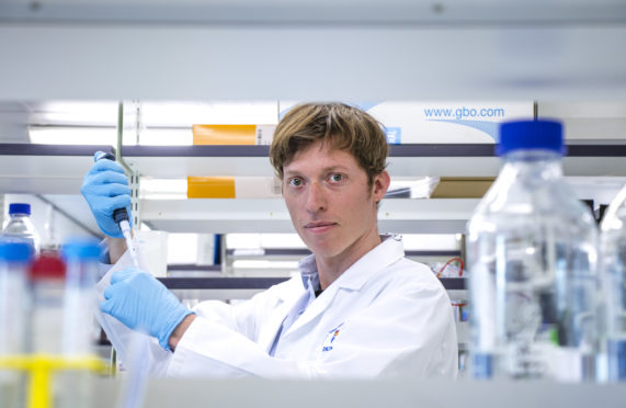 Dundee University's Dr Kasper Rasmussen